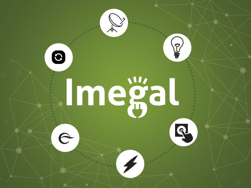 logotipo de IMEGAL SL